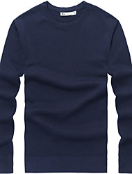 Men's 100% Cotton Pullover Sweater