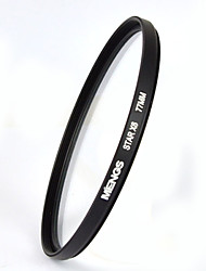 MENGS® STAR X6 77mm 6 Point Star Light Filter For Camera And Camcorder DV