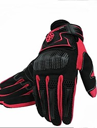 Hot! Motorcycle Glove Breathable Mesh Summer Outdoor Riding Supplies New Protective Shell Full Finger Bike Gloves