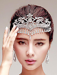 Korean Style Tassel Rhinestones Wedding/Party Headpieces/Forehead Jewelry