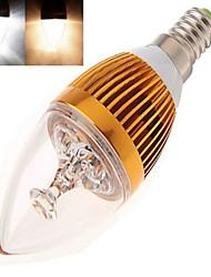 12W E14 Ampoules Bougies LED LED Haute Puissance 350 lm Blanc Chaud / Blanc Froid AC 85-265 V 1 pièce