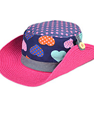 Girls Fashion Summer Cotton/Others Hats & Caps