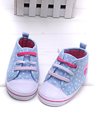 Baby Shoes Dress/Casual Cotton Flats/Fashion Sneakers Blue