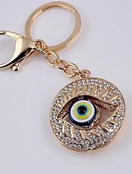 Eye Rhinestone Keychain