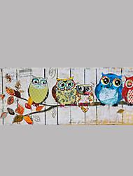 animale pittura a olio dipinta a mano di arte della parete dell'olio paintingp338-1 pronto ad appendere altri artisti dipinto a mano
