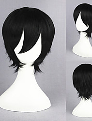 13inch ao kein Exorzist-okumura rin black anime Cosplay Perücke