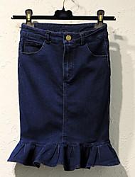 Women's Super Short Jean Skirts