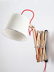 Mini Style Swing Arm Lights,Traditional/Classic E26/E27 Wood/Bamboo