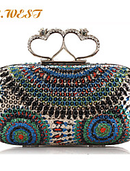 L.WEST® Women's Luxury Sequins Evening Bags