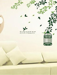 Wall Stickers Wall Decals, Garden birds PVC Wall Stickers