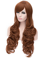 Selling The New Long Curly Brown Hair Wigs