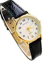 Women's New Hot Thin Round Dial Leather Strap Business Fashion Quartz Watches (Assorted Colors) Cool Watches Unique Watches