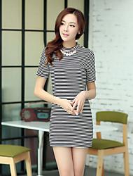 Women's Bodycon/Casual/Party/Work Short Sleeve Dresses (Knitwear)
