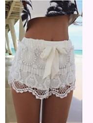 Shorts ( Tela de Encaje )- Tela de Encaje Mujer