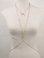 Women's Body Jewelry Body Chain Alloy Fashion Jewelry Party