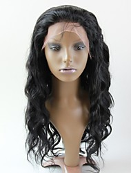 Women Lace Front Wig 10inch~20inch India Hair Color(#1 #1B #2 #4)Body Wave hair