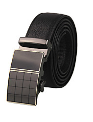 Business Men's Belt Fashion Genuine Leather Belt Metal Buckle Brand Business Gift Belt For Men Boyfriend Birthday Gift