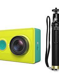 Xiaomi Xiaoyi 1080P 16MP CMOS Sports Camera / Monopod / Wi-Fi / Bluetooth V4.0 - Green (Travel Kit)