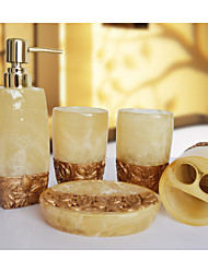 The Desert Rose Bathroom Ware 5 Sets/Yellow