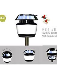 - LED-Solarleuchten - Naturweiß - Wasserdicht/Abblendbar/Wiederaufladbar - Solar/USB - 0.5