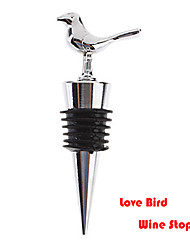 Stainless Steel Love Bird Songbird Style Wine Bottle Stopper 9*3*2.5 cm