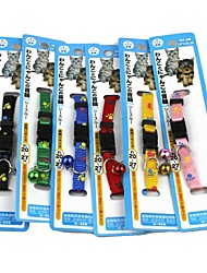 Pet Cat Collars Bell Can I Change Every Day (6 Pcs)