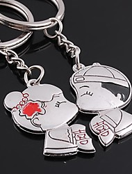 Unisex Alloy Wedding/Casual Keychain Valentine's Day Key Chains 1 Pair