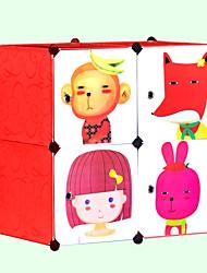 de dibujos animados caja de almacenamiento de bricolaje para niños