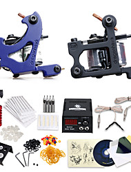 Professional Tattoo Kit 2 Machines with Free Gift of 20 Tattoo Inks
