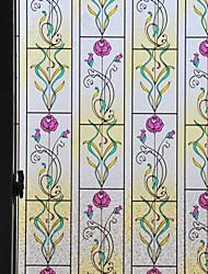 rose classique film de fenêtre de configuration