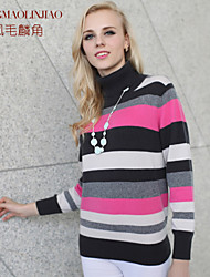 Women's Pink Cashmere , Vintage/Party Long Sleeve