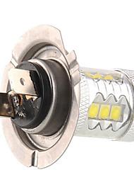 50W H7 Lampe de Décoration 14LED LED Haute Puissance 1200 lm Blanc Naturel DC 12 / DC 24 V 1 pièce