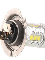 1 pcs  H7 80W 14LED  High Power LED 1200 LM 2800-3500/6000-6500 K Natural White Decoration Light DC 24/DC 12 V