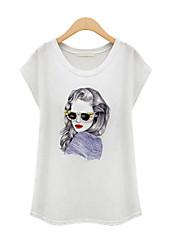 Katoen Vrouwen - T-shirt - Mouwloos