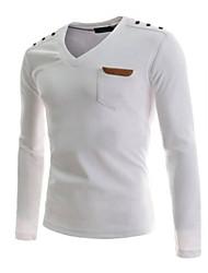 Moda slim camisa de manga longa dos homens wsgyj