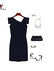 MENGFEILU®Women's Fashion Unique Design Pleated Dresses