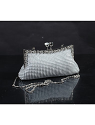 Diamond With Aluminum Sheet  Evening Bag/Purses/Clutches/Mini-Bags/Totes/Wallets & Accessories/Bridal Purse With Chain