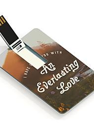 8gb een eeuwige liefde ontwerp kaart usb flash drive