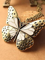 FLYBIRD Women's Rhinestone Alloy Classical Lovely Necklace&Pendant Party Leisure Casual Work