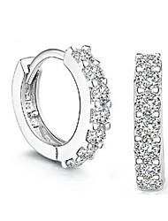 zarcillos de diamantes s925 plata pura regalo hecho a mano