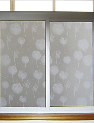Dandelion Glass Door Sticker Window Film & Stickers (100*90cm)