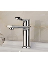 Contemporary Waterfall Brass Chrome