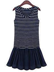 Элейн женская мода causual бак платье