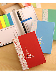 Love Travlel Flying London Cute/Business/Multifunction Paper Self-Stick Notes With Pen (Random Color)