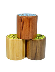 Portable Wireless Bluetooth Speaker with Natrual Wood