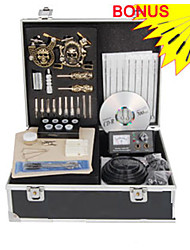 professionele tattoo kits aangevuld set met 2 tattoo guns