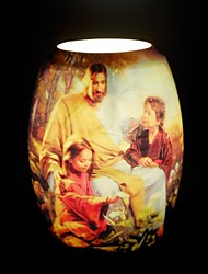 Jesus Missionary Chart Table Lamp