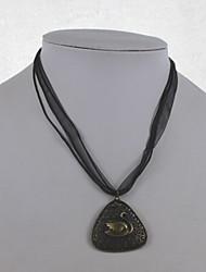 Femme Pendentif de collier Forme d'Animal Cygne Alliage Mode Bijoux Pour Quotidien Décontracté 1set