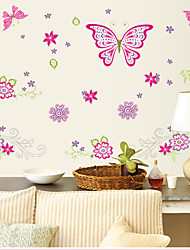 pegatinas de pared Tatuajes de pared, mariposas pegatinas de pared de pvc