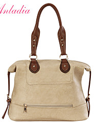 Anladia Designer Ladies Leather Celebrity Shopping Tote Bag Shoulder Handbag 3 Colors
